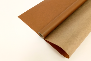 Крафт-бумага вержированная Шоколадная 40гр. / рулон
