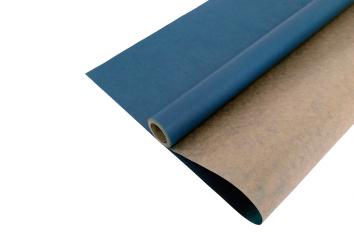 Крафт-бумага вержированная Синяя 40гр. / рулон