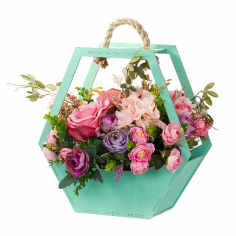Декоративный ящик для цветов
