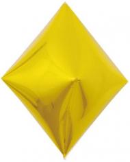 Шар 3D Ромб, Золото (в упаковке)