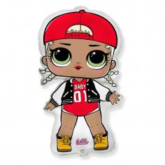 Шар Мини-фигура Куклы ЛОЛ, MC SWAG (в упаковке)