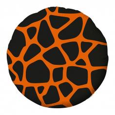 Шар Круг Жираф принт (в упаковке)