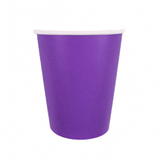 Стаканы бумажные Лиловый / Purple