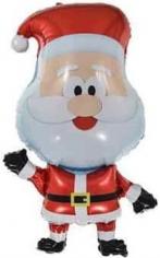 Шар Фигура, Веселый Санта (в упаковке)