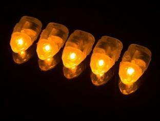 Светодиоды 2D Желтый 10 шт