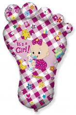 Шар Фигура, Ножка девочки New / Foot Girl (в упаковке)