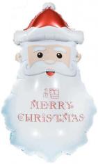 Шар Фигура, Голова Деда Мороза (в упаковке)