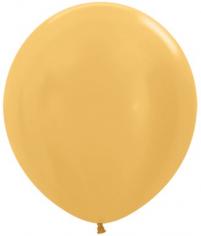Шар Золото (яркое), Металл / Gold R 569
