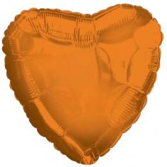 Шар Сердце, Оранжевый / Orange