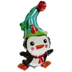 Шар Мини-фигура, Пингвин в колпаке (в упаковке)