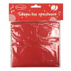 Скатерть полиэтиленовая Красный / Red
