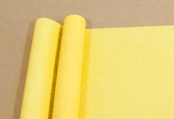 Бумага матовая однотонная Желтая