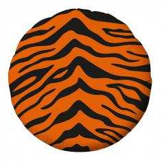 Шар Круг Тигр принт (в упаковке)