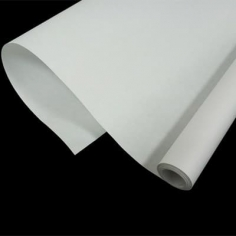 Крафт-бумага белёная однотонная Белая 50гр. / рулон
