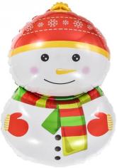 Шар Фигура, Счастливый снеговик (в упаковке)