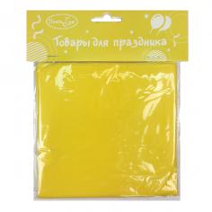 Скатерть полиэтиленовая Желтый / Yellow
