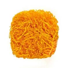 Наполнитель для коробок Солнечно-желтый, гофрированный