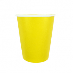 Стаканы бумажные Желтый / Yellow