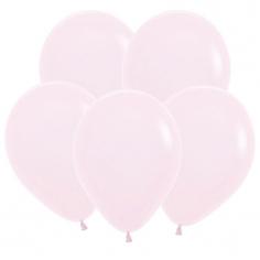 Шар Пастель Нежно-розовый, Матовый (Макаронс) / Pink 609