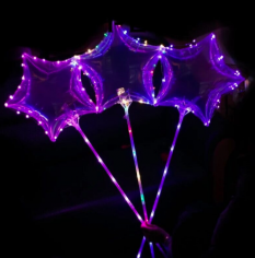 Шар Звезда Deco Bubble в комплекте с диодной лентой