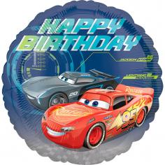Шар Круг, Тачки СДР / Cars Happy Birthday