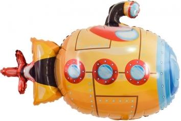 Шар Мини-фигура, Подводная лодка, Оранжевый (в упаковке)