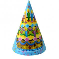 Колпачок Праздничный торт 6шт