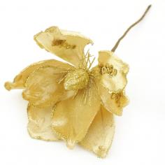 Цветок искусственный Золотой