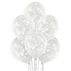 Шар Бабочки, Прозрачный Кристалл (шелк) 5 ст