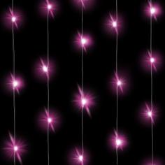 Светодиодная нить Розового свечения 30 Led 1