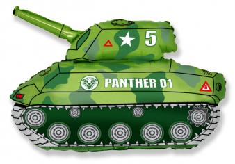Шар фигура, Танк (зелёный) / Tank (в упаковке)