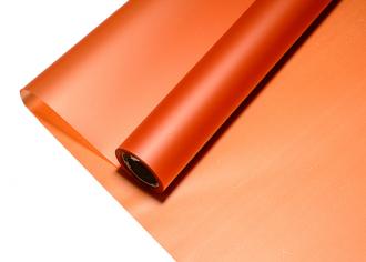 Пленка Пудровая Металлик оранжевый