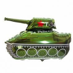 Шар Фигура Танк Т-34 / Tank Т-34 (в упаковке)
