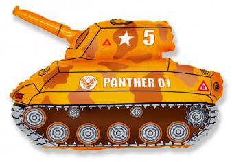 Шар фигура, Танк (коричневый) / Tank (в упаковке)