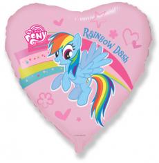 Шар Сердце, Пони Радуга / Pony