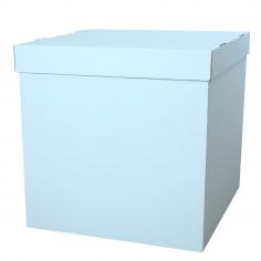 Коробка для воздушных шаров, Голубая