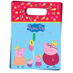 Пакет подарочный Пеппа-принцесса