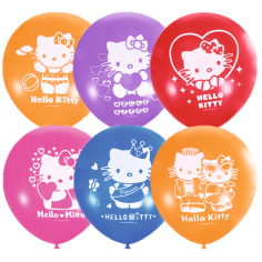 Шар Hello Kitty, Ассорти, 2 ст