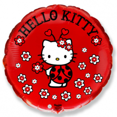 Шар Круг, Хелло Китти божья коровка/ Hello Kitty