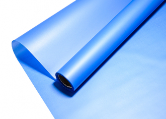 Пленка Пудровая Металлик голубой