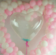 Сердце Кристал, Прозрачный / Clear