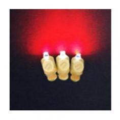 Светодиоды 3D Красные в оболочке