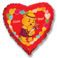 Шар Сердце, Влюблёный мишка-морячок / Love sailor bear