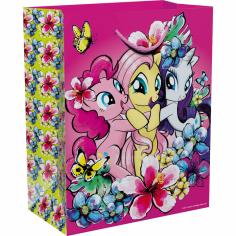 Пакет подарочный Мой маленький пони, Розовый