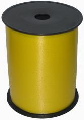 Лента однотонная Желтая