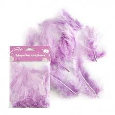 Перья Светло-Сиреневые / Light Violet