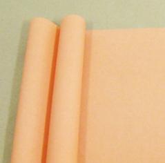 Бумага матовая однотонная Персиковый