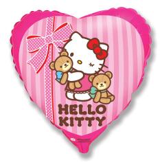 Шар Сердце, Хелло Китти лучшие друзья/ Hello Kitty