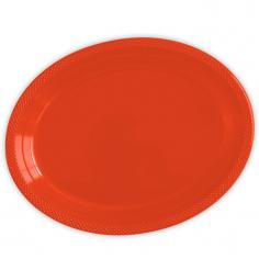 Тарелки сервировочные пластиковые