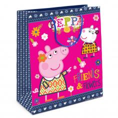 Пакет подарочный Пеппа и Сьюзи